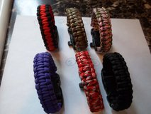 Paracord Bracelets- 6 colors/New in 29 Palms, California
