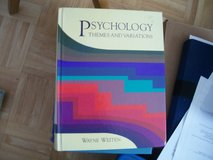Themes and Variations Psychology Textbook in Ramstein, Germany