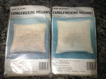 CANDLEWICKING PILLOW KITS in Yorkville, Illinois