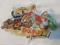 Disney's Stitch T-shirt  (M) Trouble In Paradise in Plainfield, Illinois
