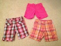 Girls's 6/6X Bermuda Shorts 3 Pairs in Bolingbrook, Illinois