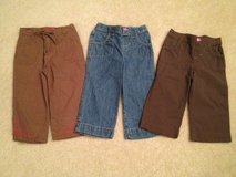 Girl's 6/6X Capris - 3 Pairs in Lockport, Illinois