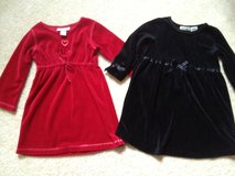 Girl's 2T Velour Dresses Christmas in Oswego, Illinois