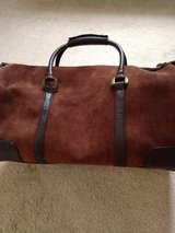Lg suede & leather  travel bag/ brand new in Fort Campbell, Kentucky