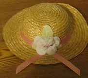 Girl's Straw Bonnet in Sandwich, Illinois