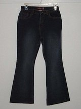 Girls Size 16 jordache flare jeans low-rise stretch ~ in Morris, Illinois