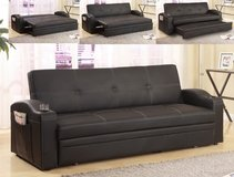 FUTON SOFA BED MAKES A QUEEN BED ONLY $299 in Riverside, California
