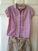 Girl's 6X Summer Shirt & Capri in Lockport, Illinois