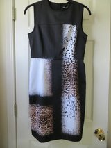 NWT Kenneth Cole New York Falda Animal Print Dress Size 4P in Joliet, Illinois