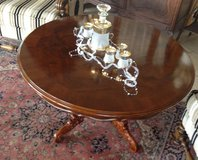 elegant French coffee table with walnut root veneer in Spangdahlem, Germany