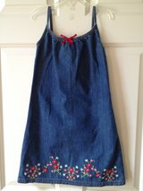 Girl's GAP 5/6 Jean Summer Dress in Naperville, Illinois