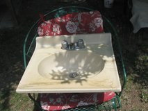 marble sink in Beaufort, South Carolina
