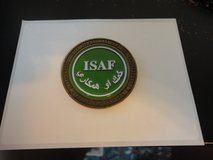 LARGE 2 INCH LIMITED ISAF AFGHANISTAN OEF CHALLENGE COIN #1 in Fort Campbell, Kentucky
