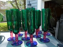 Colorful Pier 1 Goblets New in Oswego, Illinois