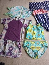 Plus Girls Swimsuits Lands End 14.5 16.5 in St. Charles, Illinois