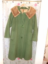 Vintage Coat with Fox Lining Large (used) in St. Louis, Missouri