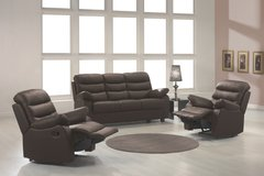 Leather Recliner Set Ronaldo - monthly payments possible in Aviano, IT