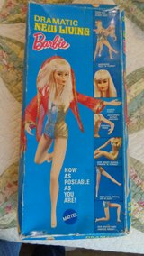 1968 New Living Barbie in box with stand in Warner Robins, Georgia
